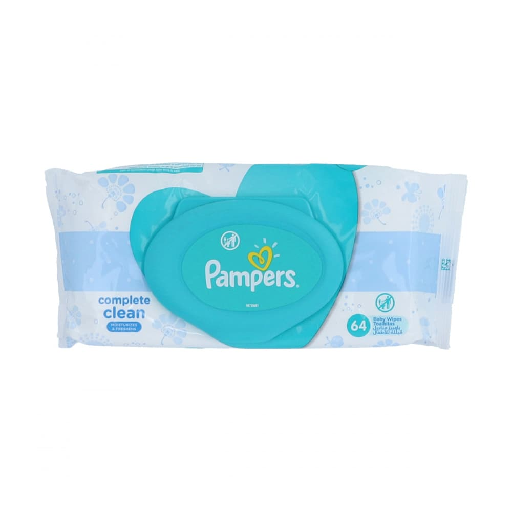 Pampers Baby Wipes 64pcs
