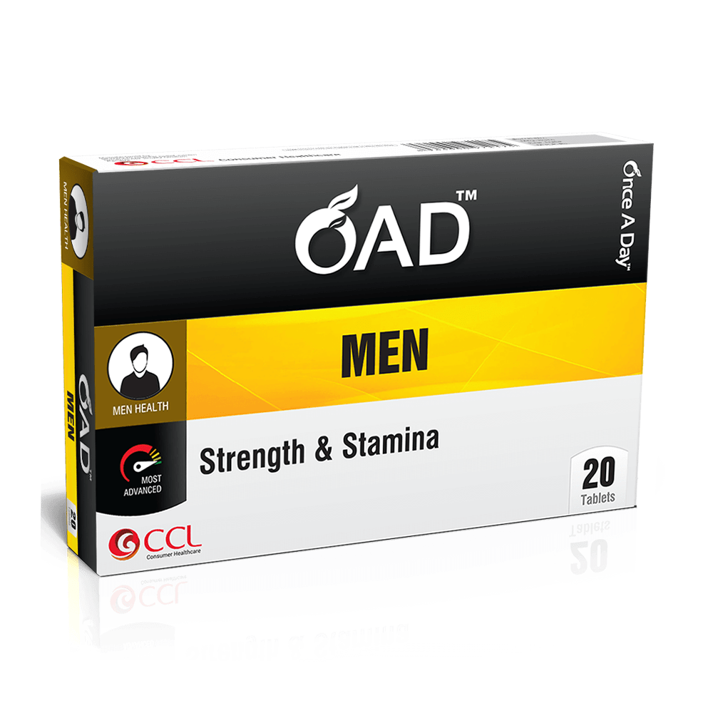 Once A Day Men Strength Tablets (20 Tabs)