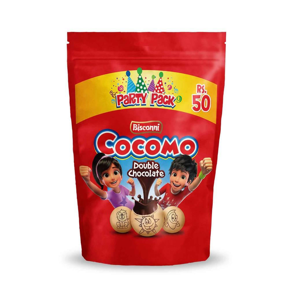 Bisconni Cocomo Double Chocolate Pouch 90gm