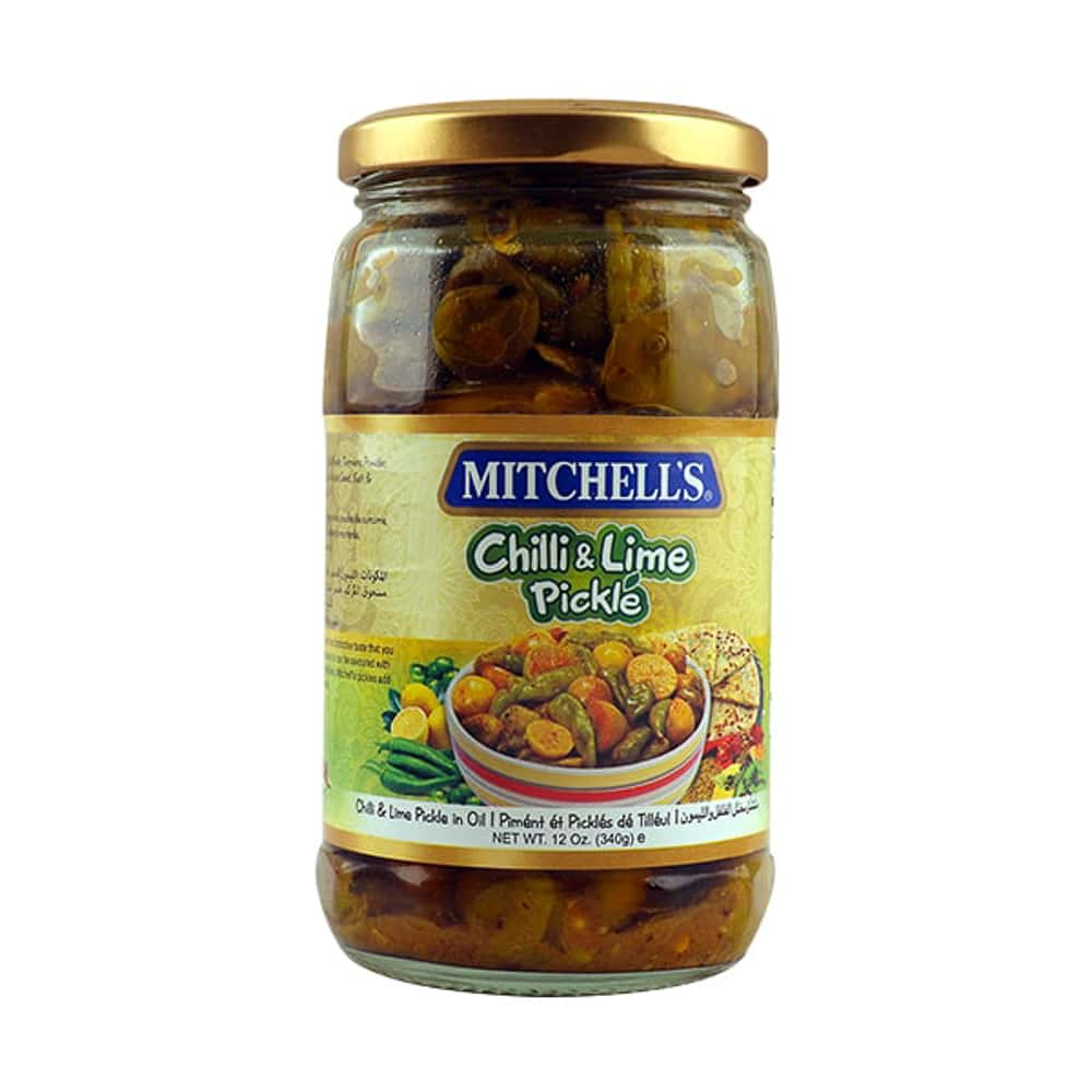 Mitchell's Chilli & Lime Pickle 340gm