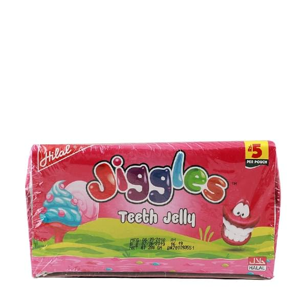 Hilal Jiggles Teeth Jelly 24 Pouches
