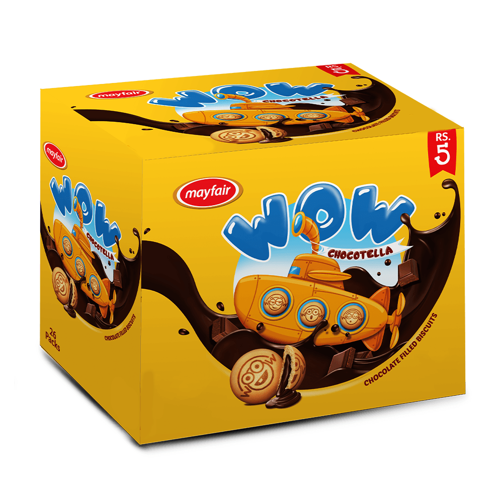 Mayfair Wow Chocolate Filled Biscuits