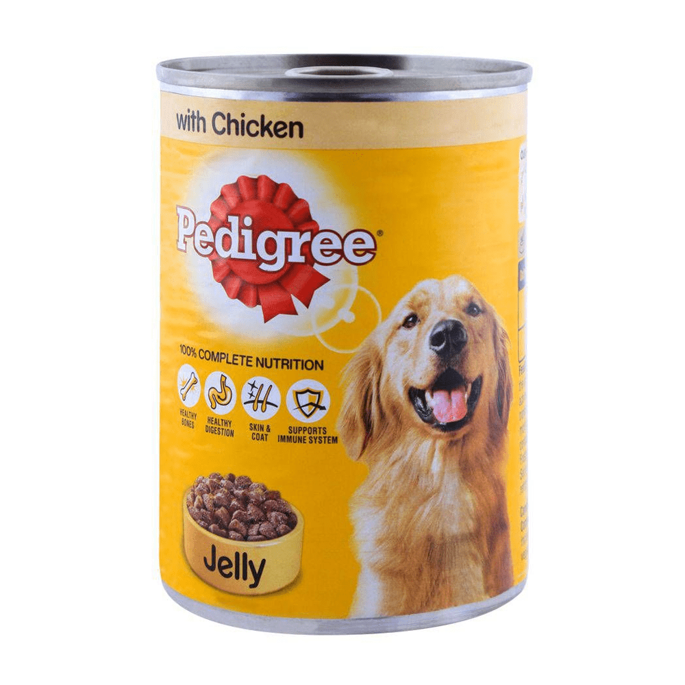 Pedigree in Jelly with Chicken 385gm