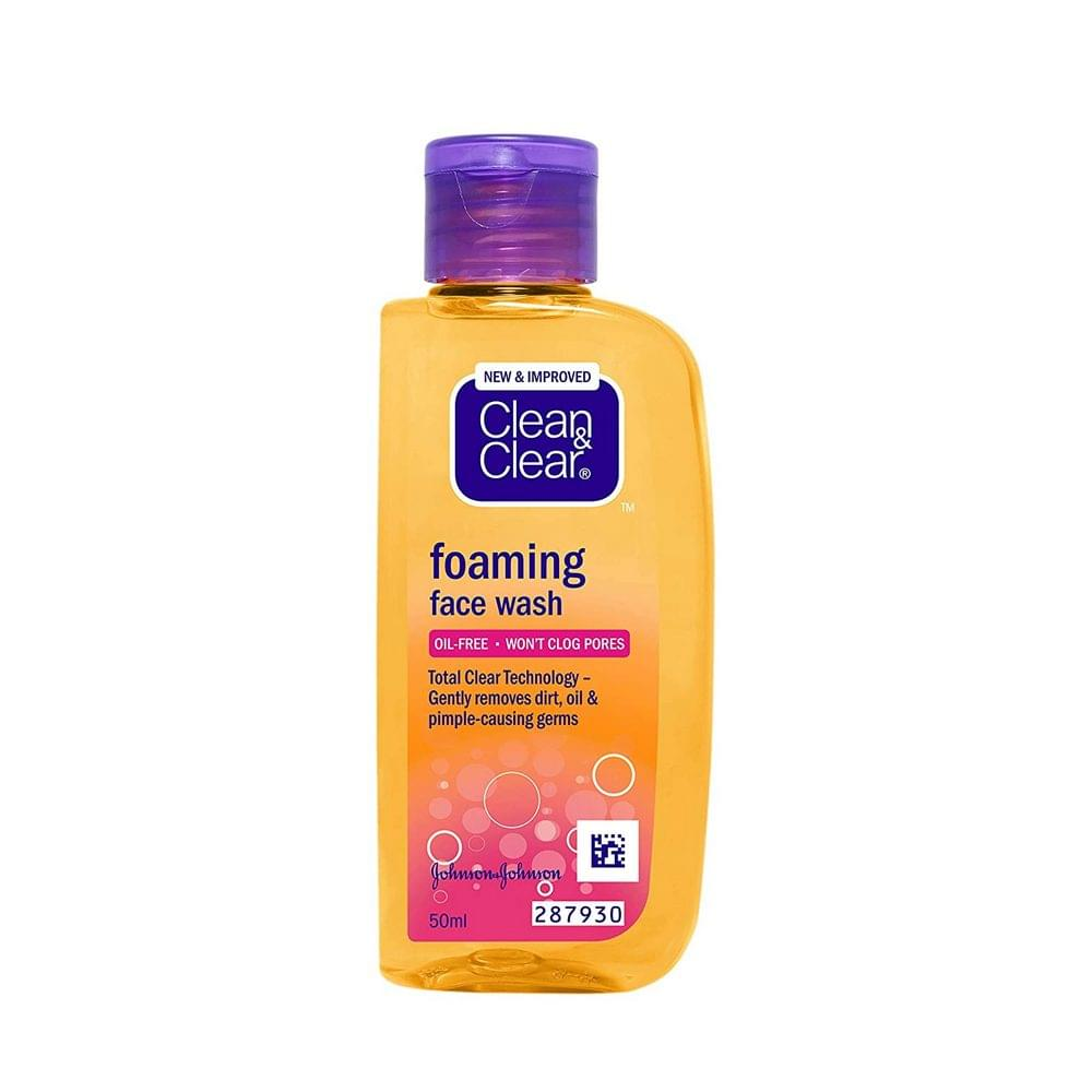 Clean & Clear Foaming Face Wash 50ml