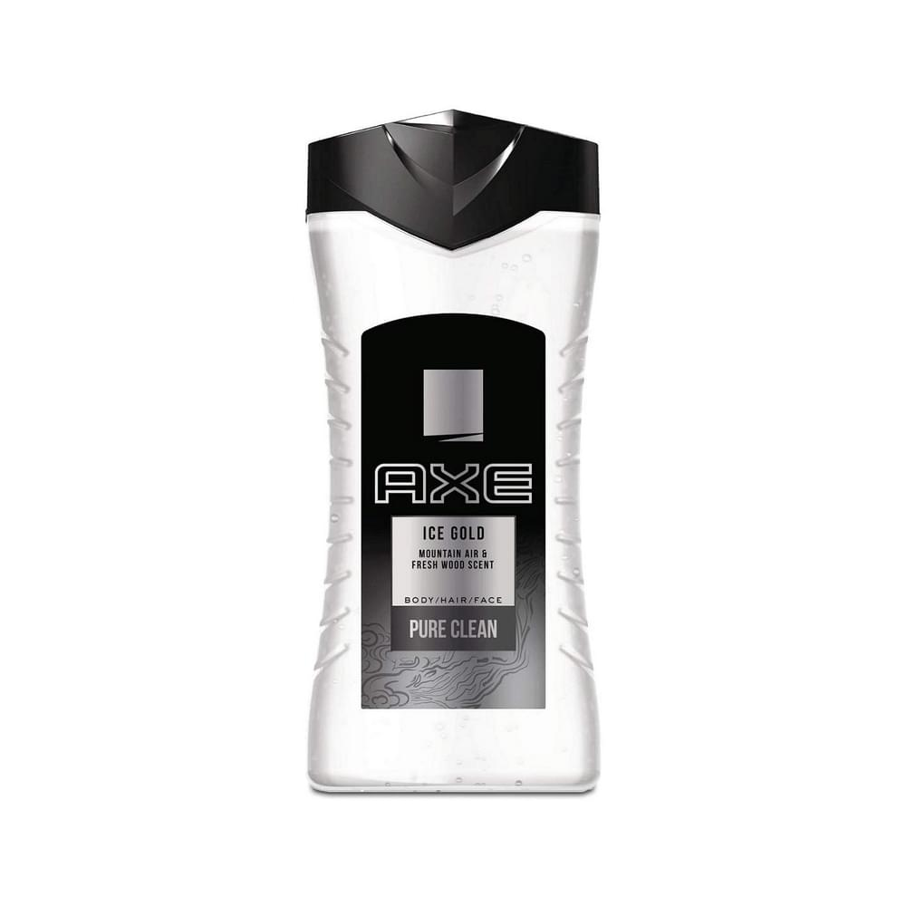 Axe Ice Cold Pure Clean Body/Hair/Face 400ml