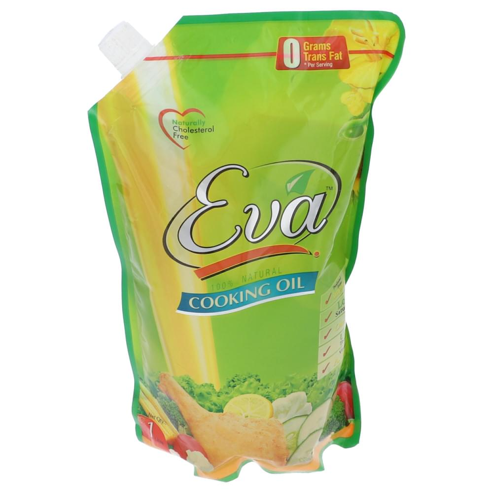 Eva Cooking Oil Pouch With Cap 1L