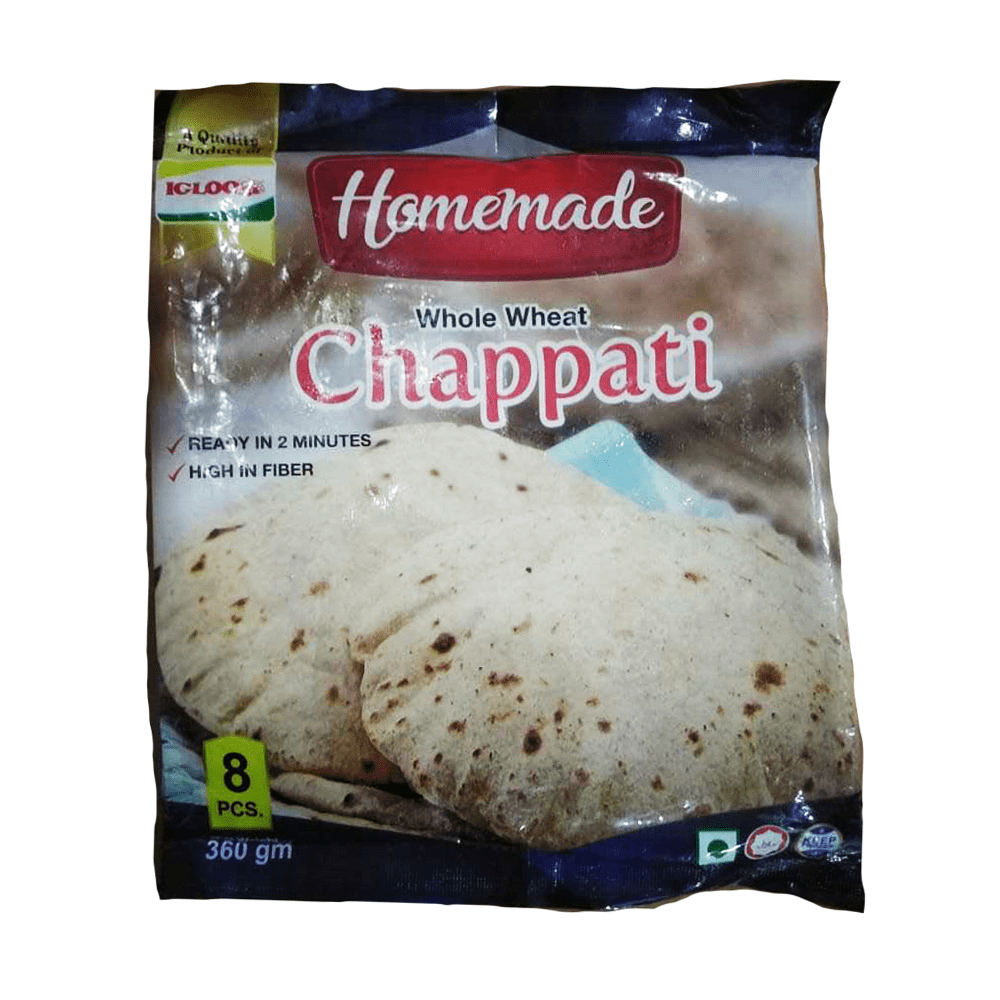 Homemade Chapati 8 Pieces