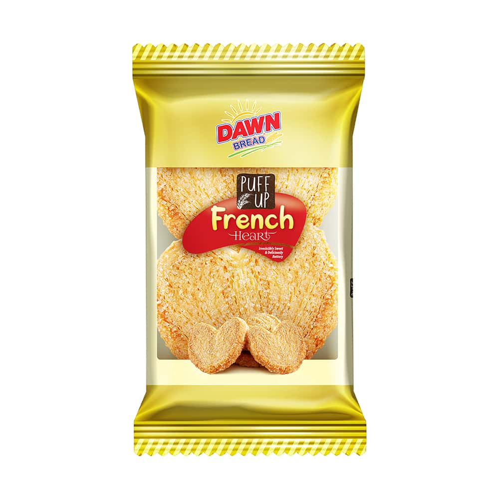 Dawn Puff Up French Heart 100gm