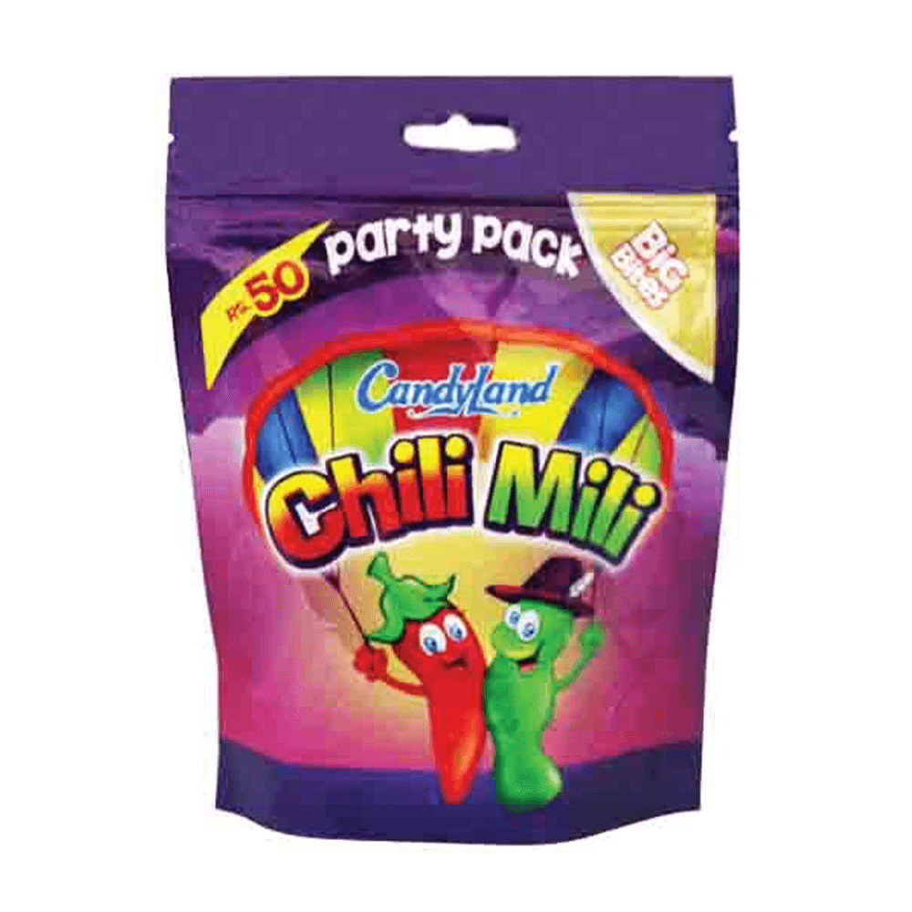 Candyland Chilli Milli Party Pack 70gm
