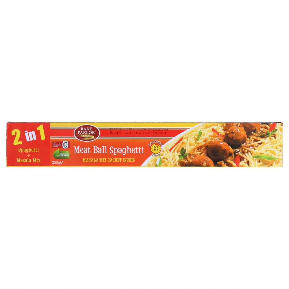 Bake Parlor Meat Ball Spaghetti 2 In 1 250gm