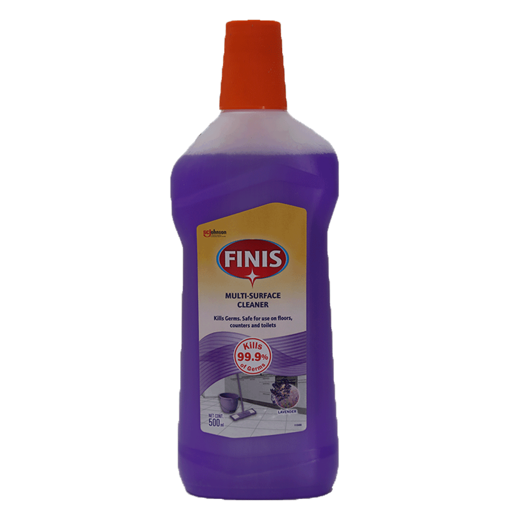 Finis Multi Surface Cleaner Lavender 500ml