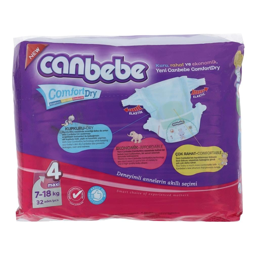 Canbebe Diapers Size 4 (32pcs)