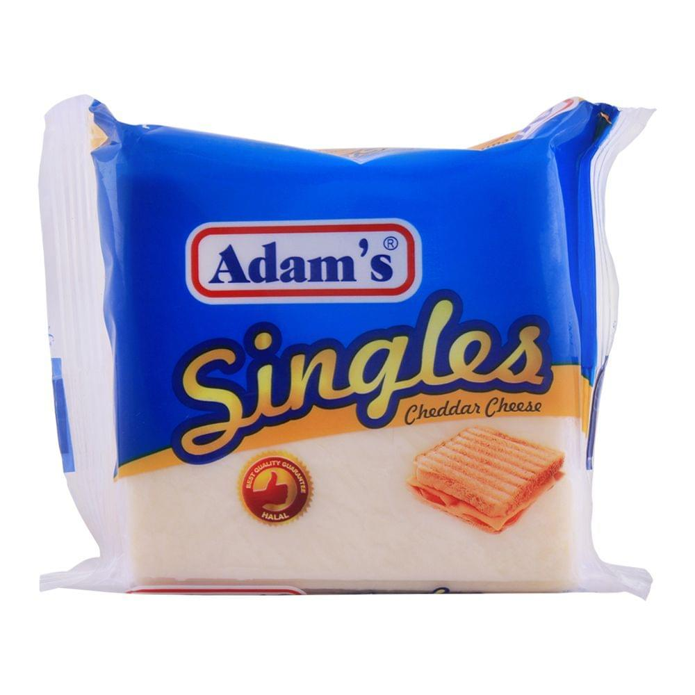 Adam's Singles Cheddar Cheese Slices 200gm