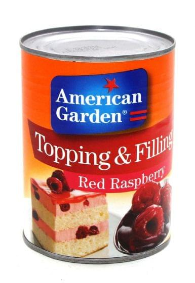 American Garden Topping & Filling Red Raspberry 595gm