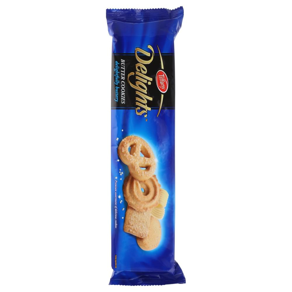 Tiffany Delights Butter Cookies 100gm