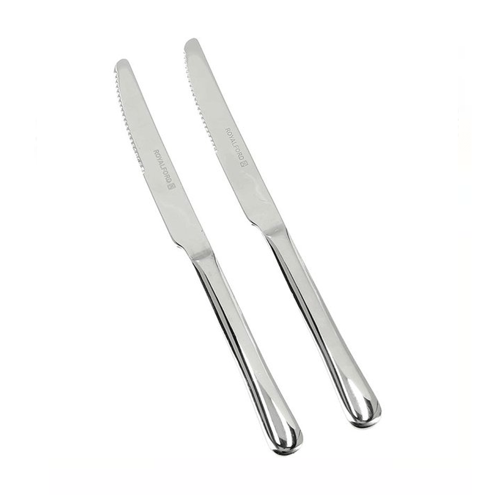 Table Knife Stainless Steel Set 2Pcs