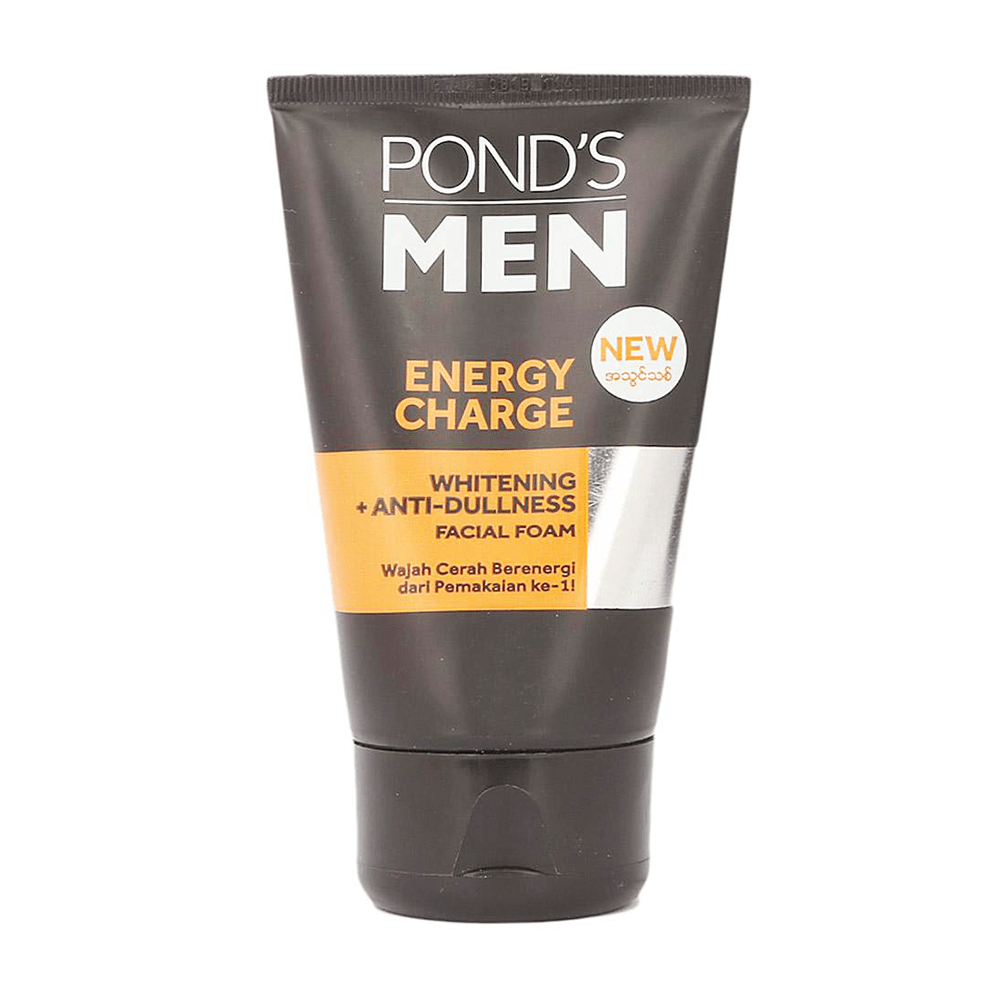 Pond's Men Energy Charge Whiting Anti-Dullness Facial Foam 50gm