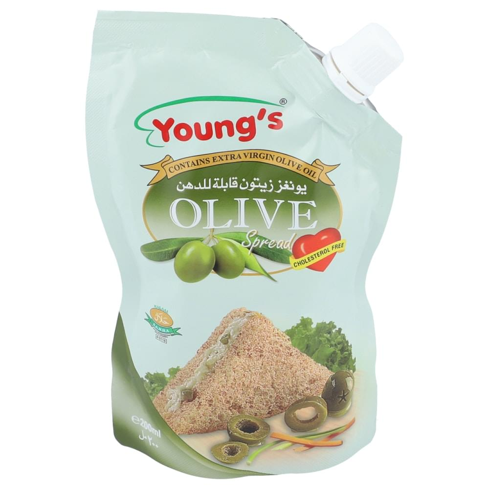 Young's Olive Spread 200ml