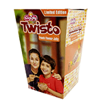 Giggly Twisto Peach Flavour Jelly 300gm