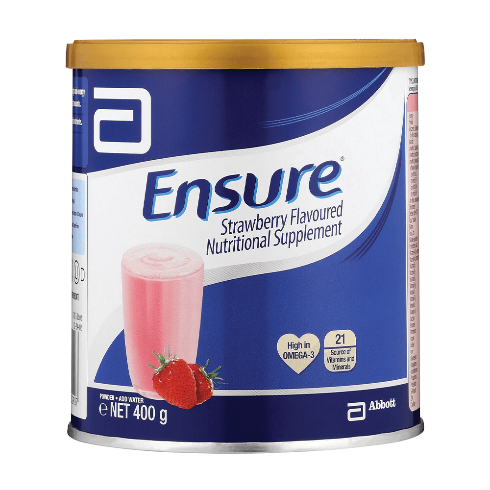 Ensure Strawberry Nutritional Supplement 400gm