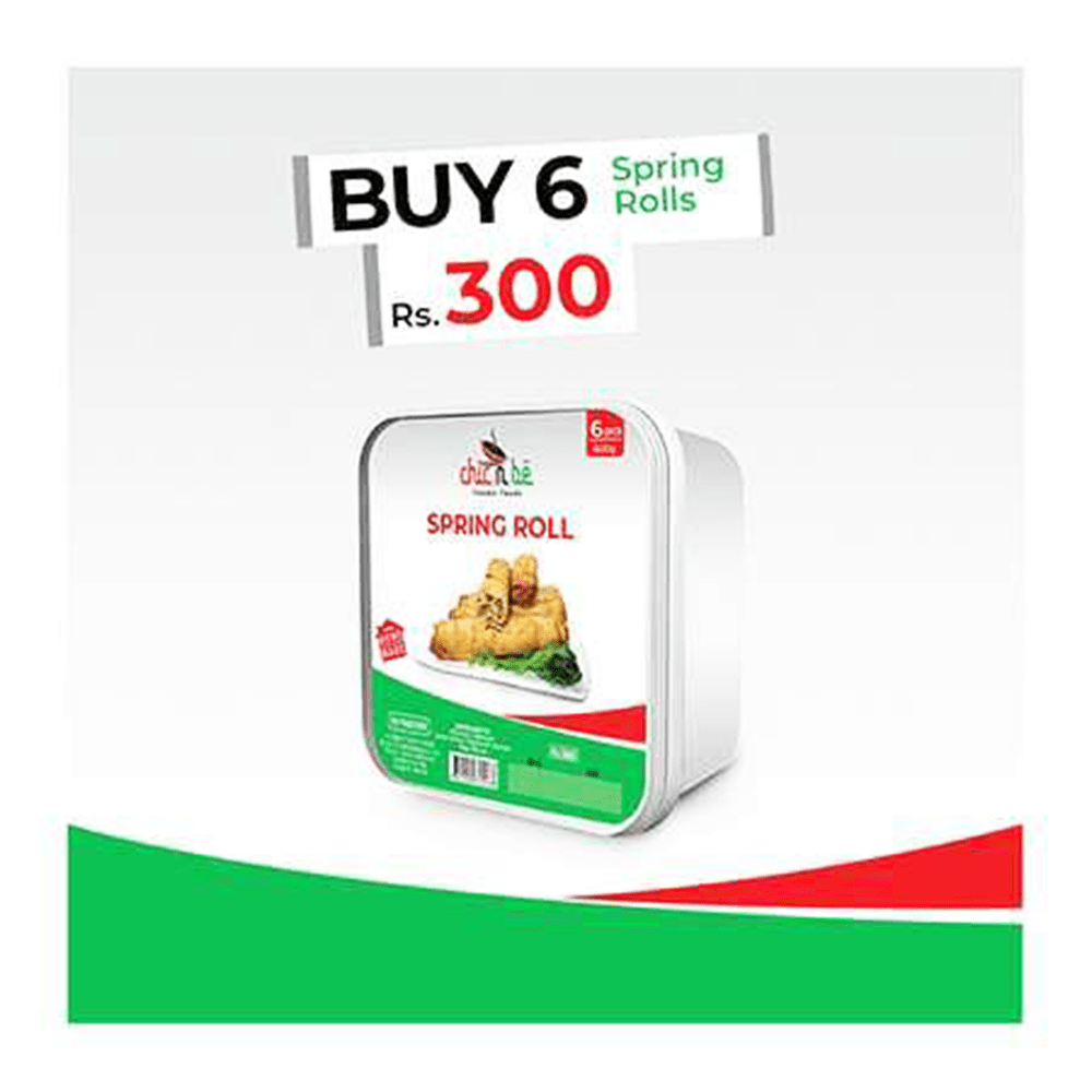 Chic N Be Spring Roll 600gm