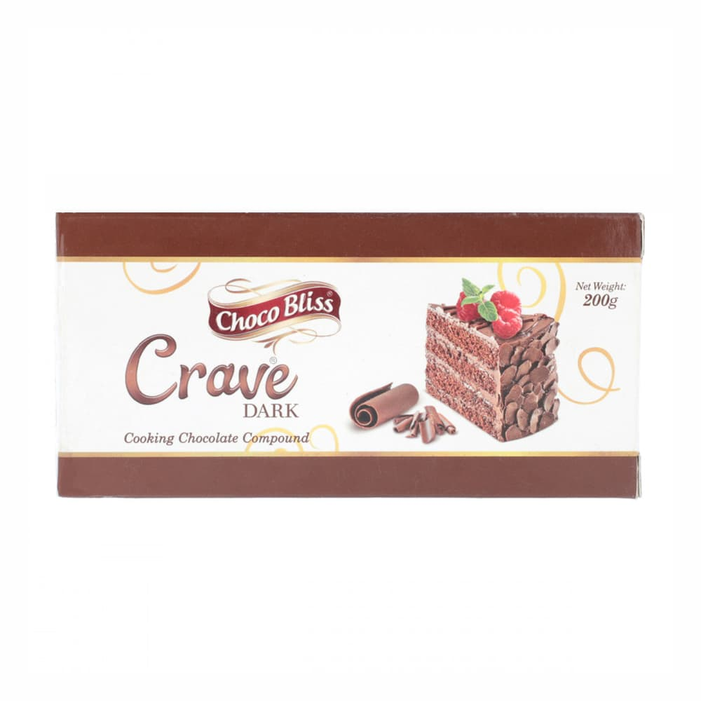 Young's Choco Bliss Crave Cooking Dark Chocolate 200gm