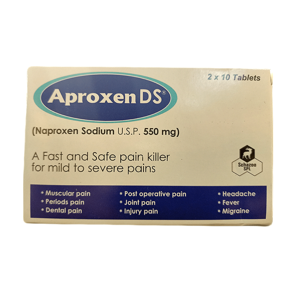 Aproxen-Ds Tablet 550mg - 20 Tab