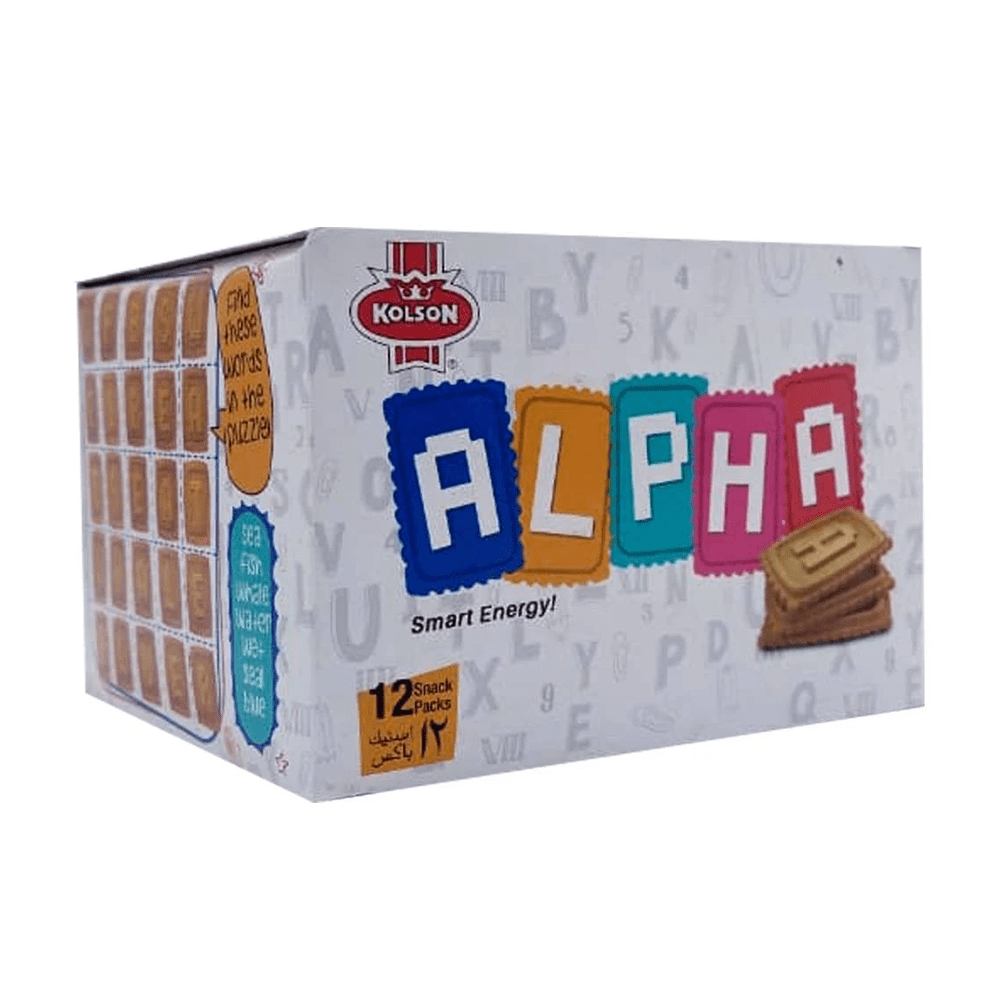 Kolson Alpha Smart Energy Biscuits (24 Ticky Packs)