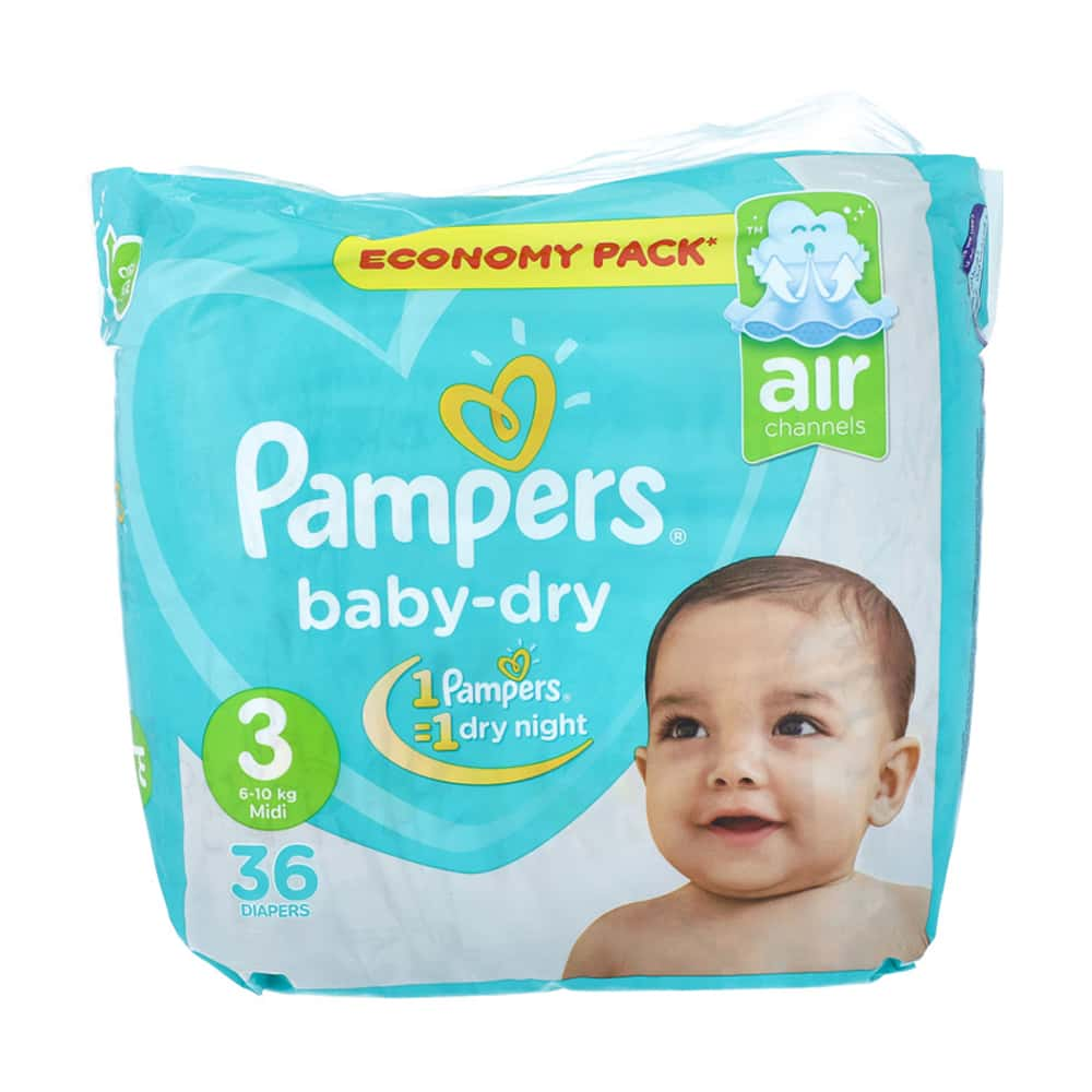 Pampers Jumbo Pack Size 3 butterfly (36pcs)