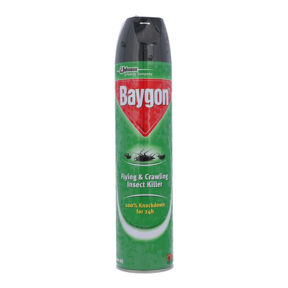 Baygon Flying & Crawling Insect Killer 600ml