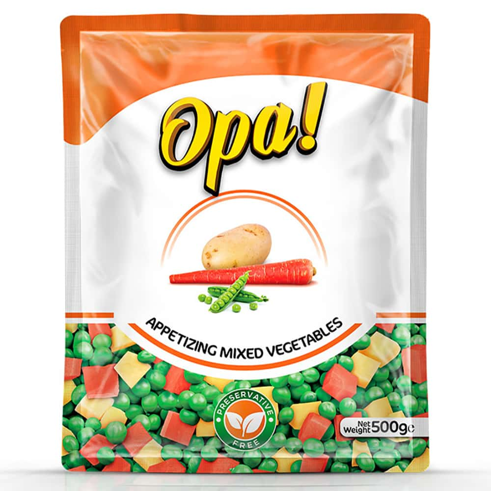 Opa Appetizing Mixed Vegetables 500gm