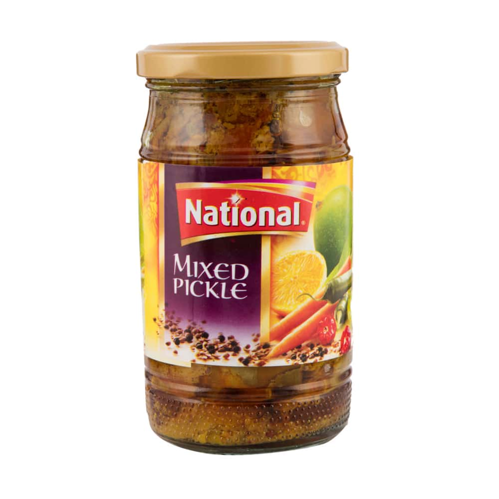 National Mixed Pickle 320gm