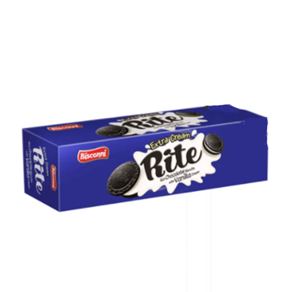 Bisconni Rite Chocolate Biscuit With Vanilla Cream Family Pack