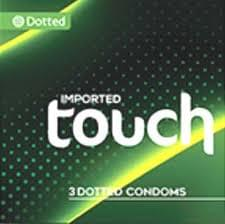 Touch 3 Dotted Condoms