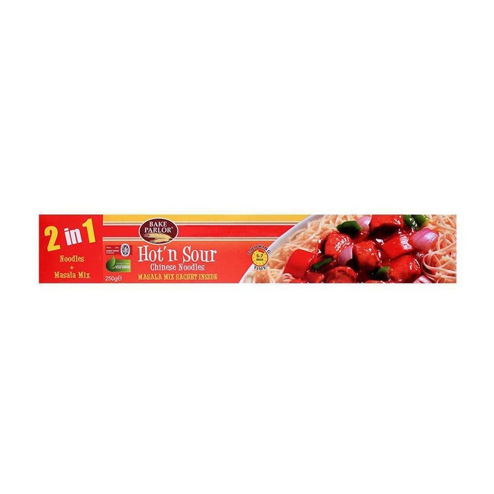Bake Parlor Hot'n Sour Chinese Noodles 2 In 1 250gm