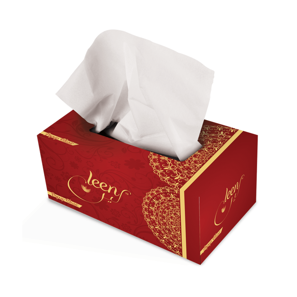 Leen Popup Classic Tissues 150X2 Ply