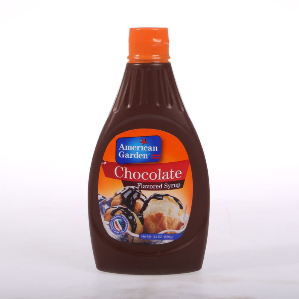 American Garden Chocolate Flavored Syrup 680gm