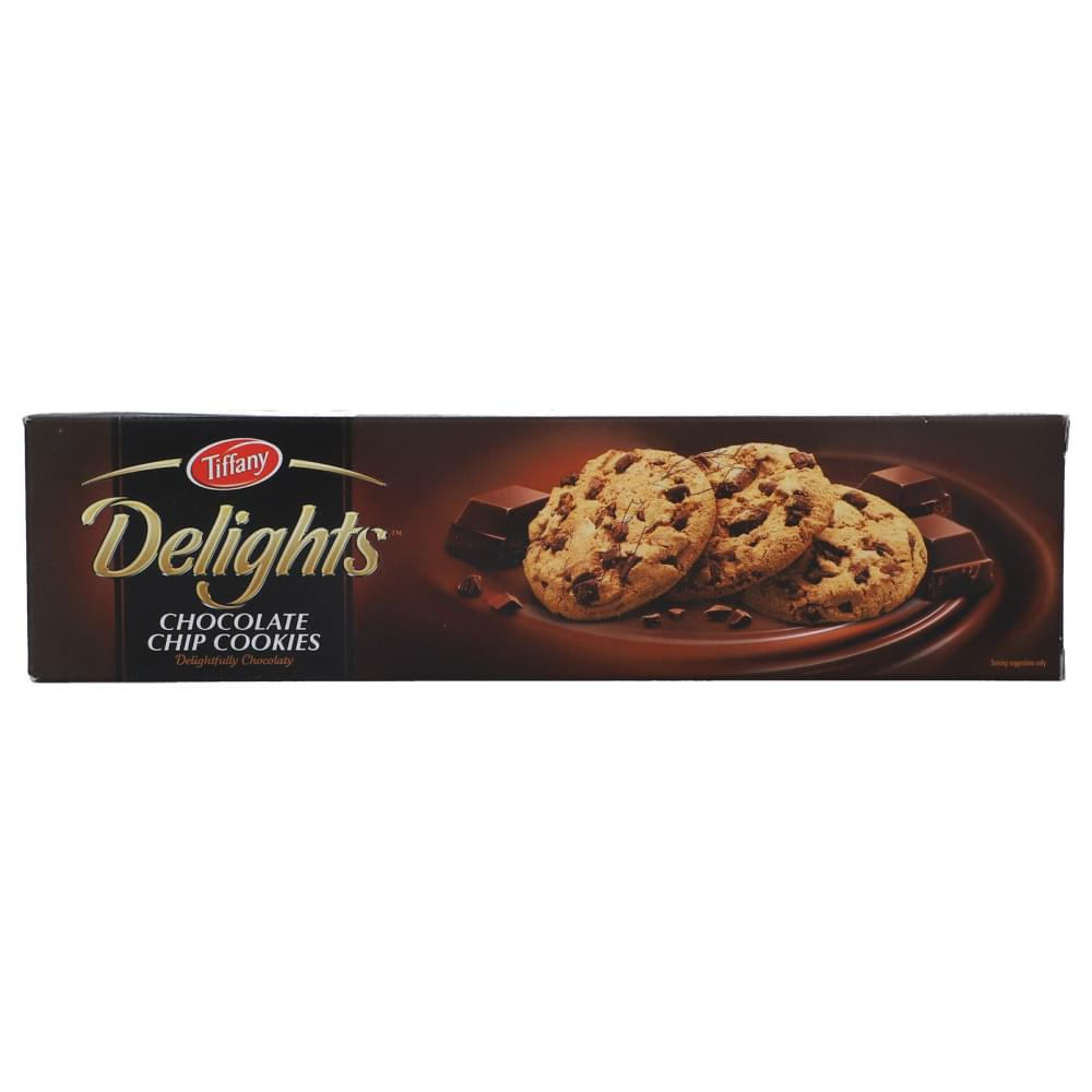 Tiffany Delights Chocolate Chip Cookies 100gm
