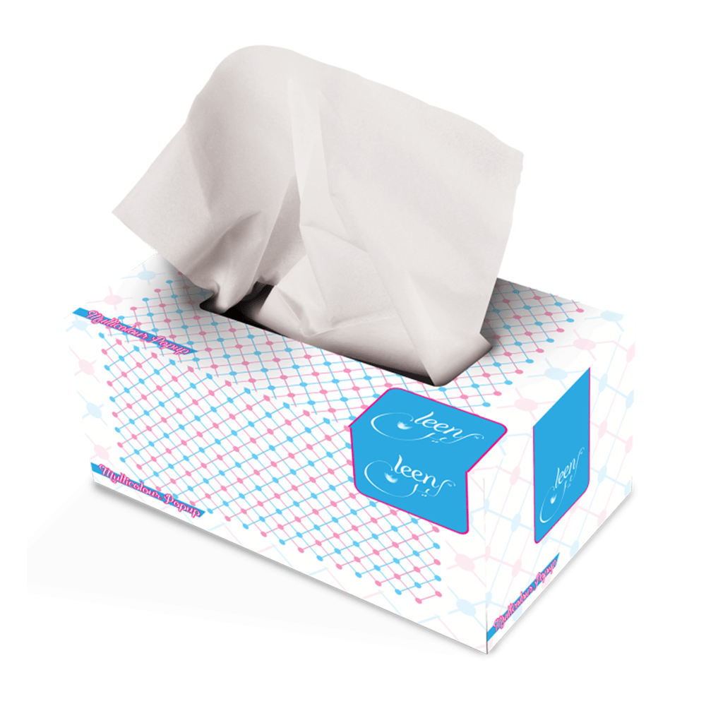 Leen Multi Color Popup Tissues 150x2 Ply